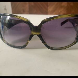 Philip Lin dark green sunglasses NWOT